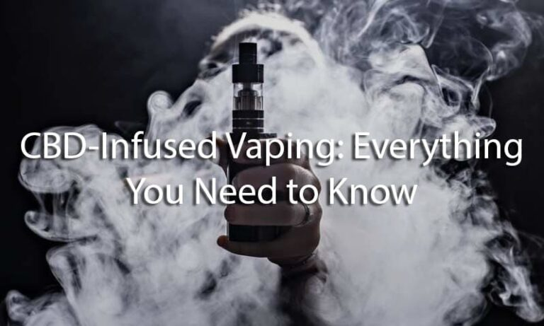 CBD-Infused Vaping: Everything You Need to Know
